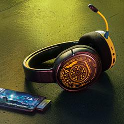 Słuchawki SteelSeries Arctis 1 Cyberpunk Edition
