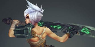 redesign riven animacja awaken