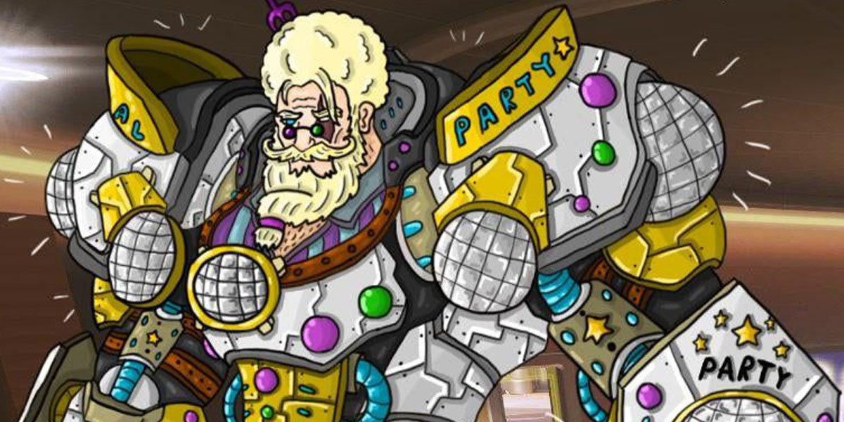 reinhardt party skin overwatch