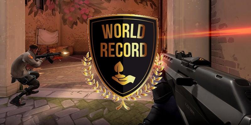 rekord świata fragów w Valorant