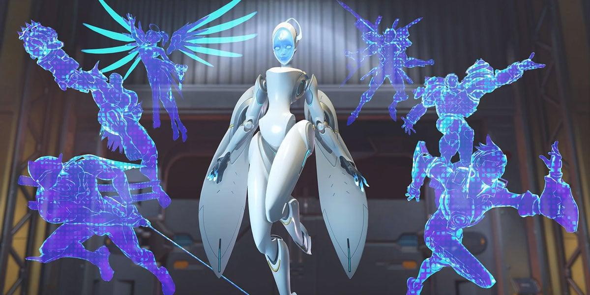 koncept talentów Echo overwatch 2