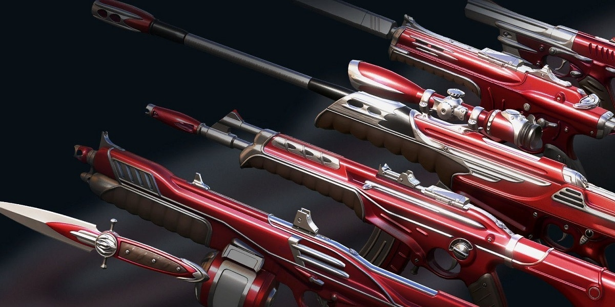 skiny broni w Valorant
