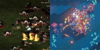 krowi poziom z diablo 2 w minecraft dungeons