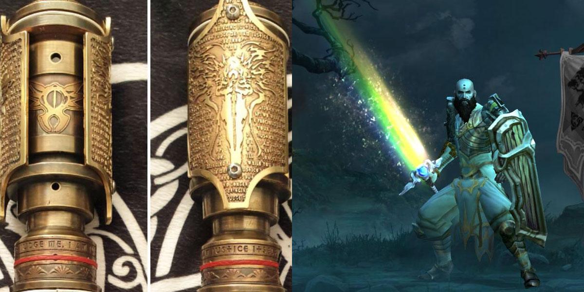 miecz świetlny diablo
