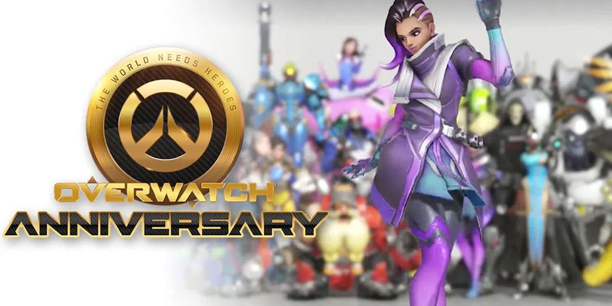 pobranie danych na rocznicę Overwatch