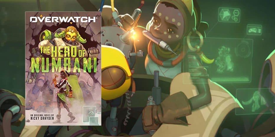 premiera książki bohater numbani overwatch przełożona