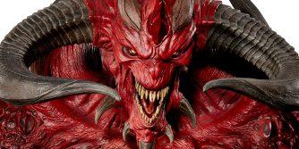 duża różnica ceny figurki Diablo 2