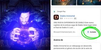 instalator diablo immortal w google play