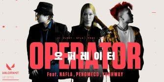 oficjalny teledysk Valorant w Korei Południowej