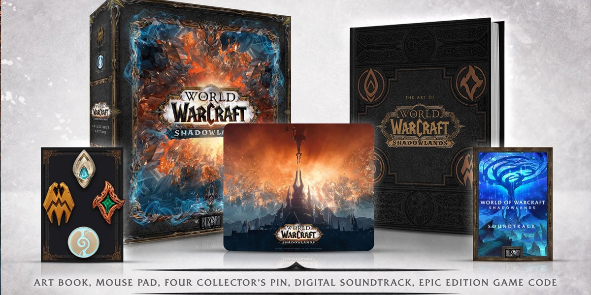 polska cena edycji kolekcjonerskiej world of warcraft shadowlands