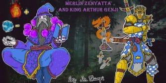 merlin i król artur w Overwatch