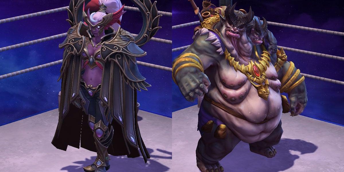 nowe skiny i mounty w heroes of the storm