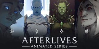 world of warcraft afterlives animowana seria