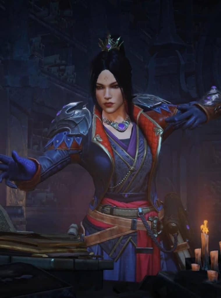 czarownica z Diablo Immortal