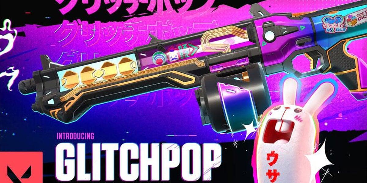 glitchpop nowe skiny broni w valorant