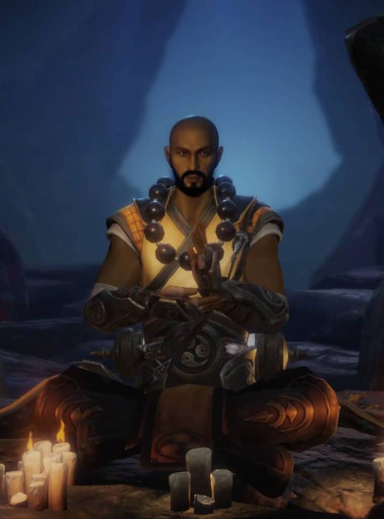 Mnich z Diablo Immortal