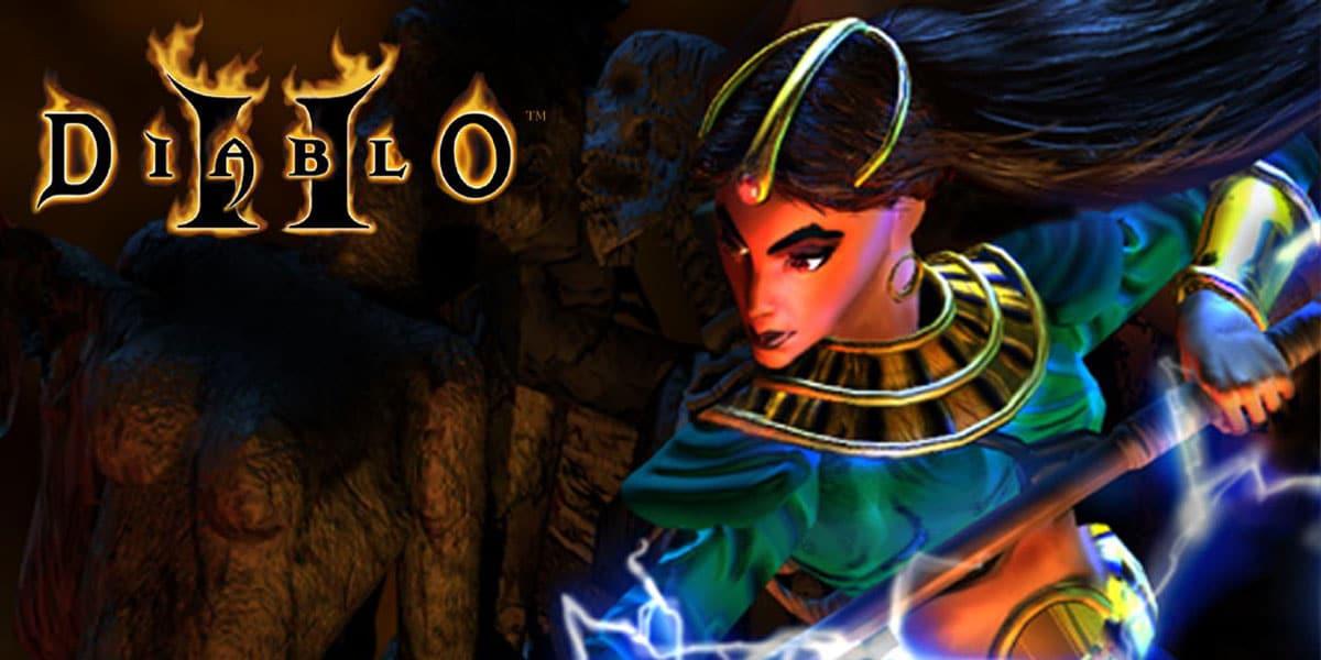 MrLlamaSC wbił 99 poziom czarodziejką w Diablo 2