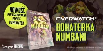 premiera książki overwatch bohaterka numbani