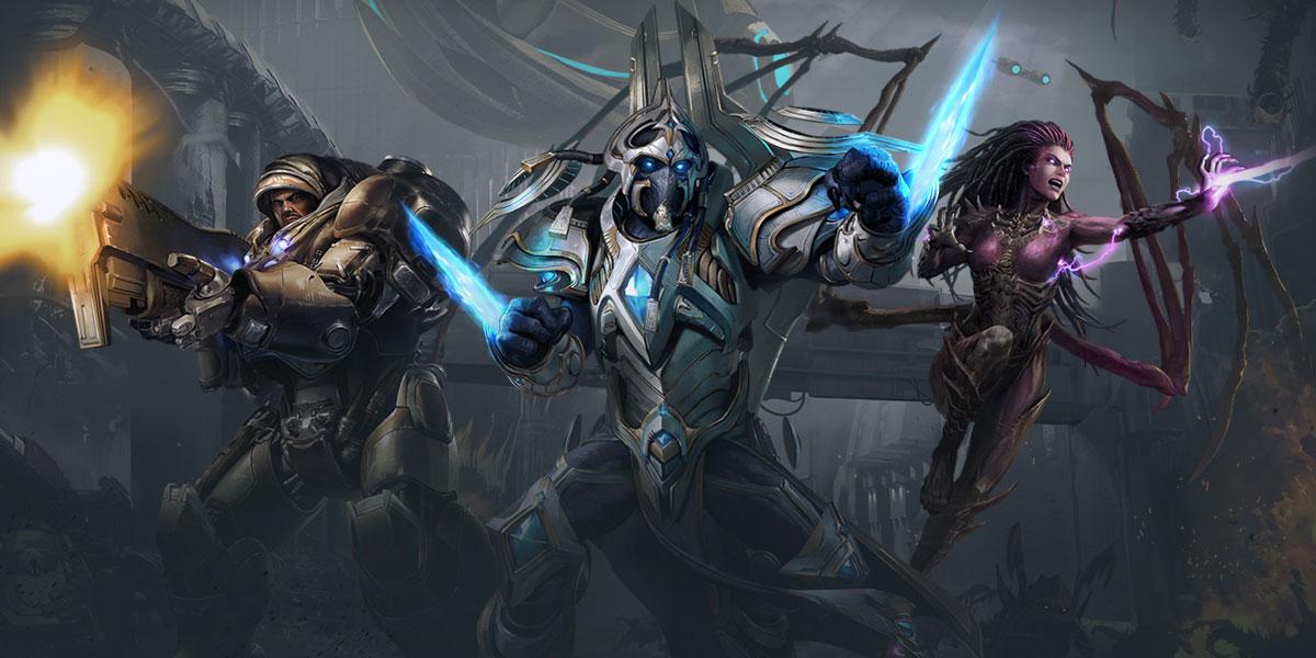promocja na kampanię starcraft 2