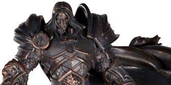 statuetka Arthasa z Warcraft 3 w przedsprzedaży
