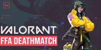 Valorant FFA Deatchmatch szczegóły trybu