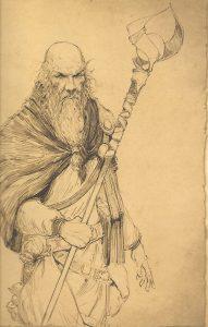 Deckard Cain w Diablo 1