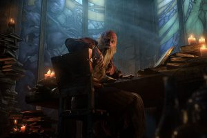 Deckard Cain w zwiastunie Diablo 3