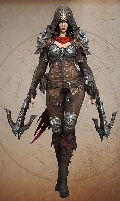 Łowczyni Demonów Demon Hunter z Diablo Immortal