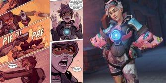 londyn wzywa, nowy komiks Smuga Overwatch i nowy skin