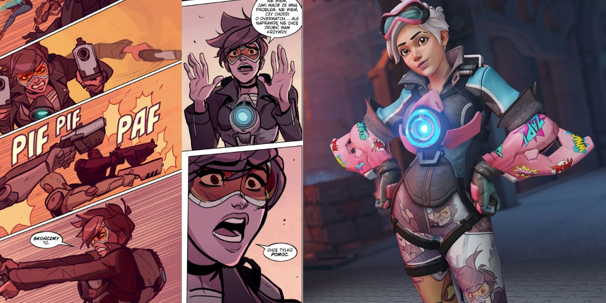 nowe wyzwanie i komiks w overwatch