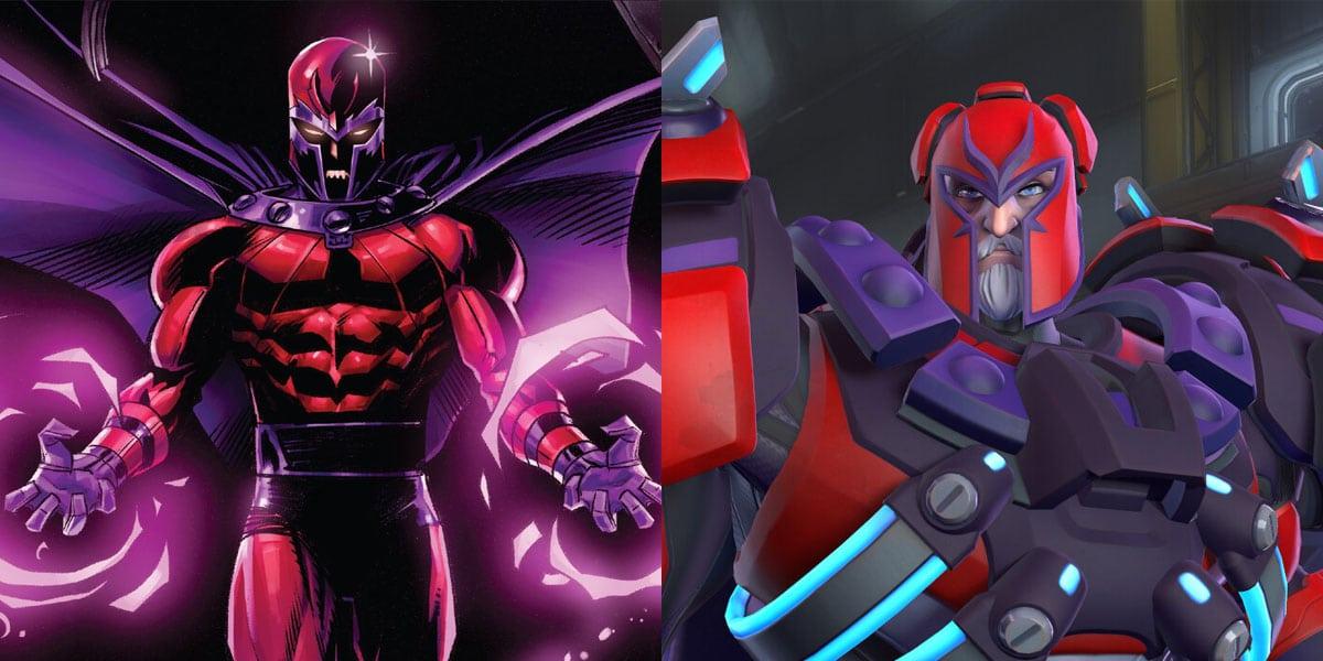 crossover overwatch x-men sigma jako magneto