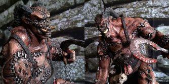 własnoręczna statuetka rzeźnika z diablo