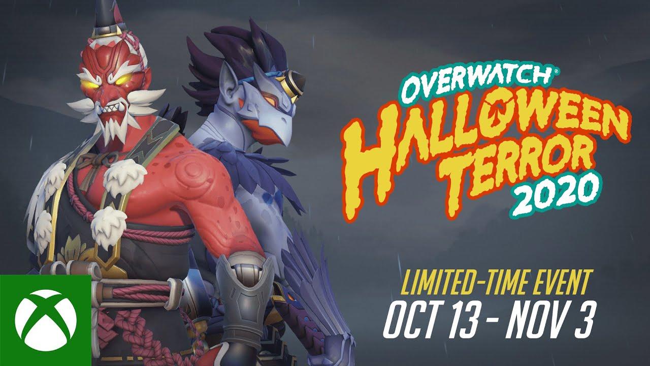 zwiastun halloweenowa groza overwatch