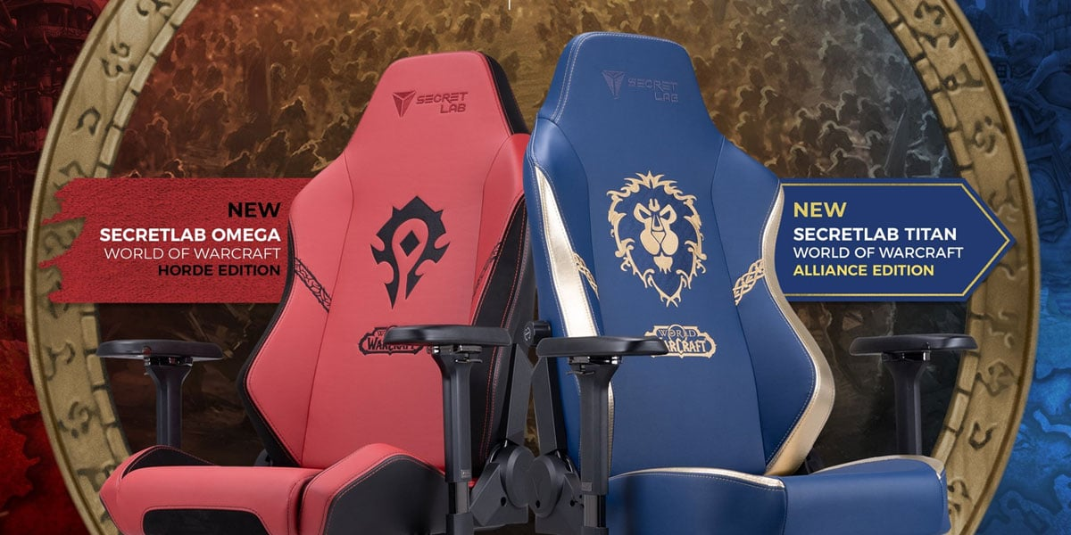 nowe fotele gamingowe world of warcraft