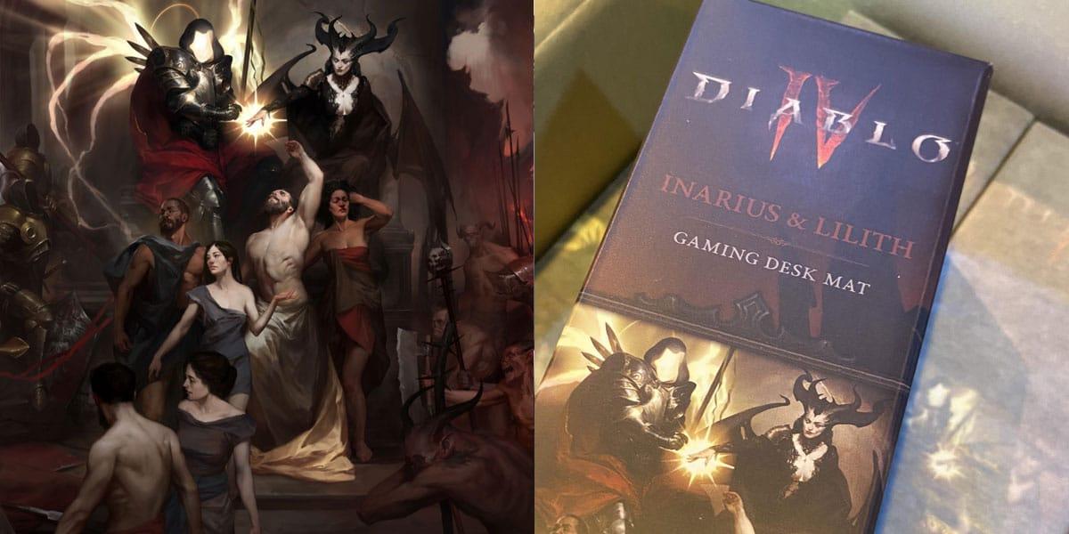 oficjalna podkładka Diablo 4