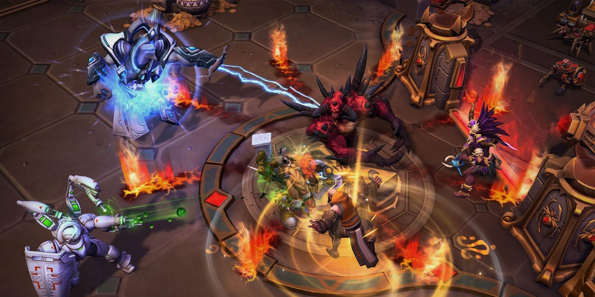 medalion gladiatora znika z heroes of the storm