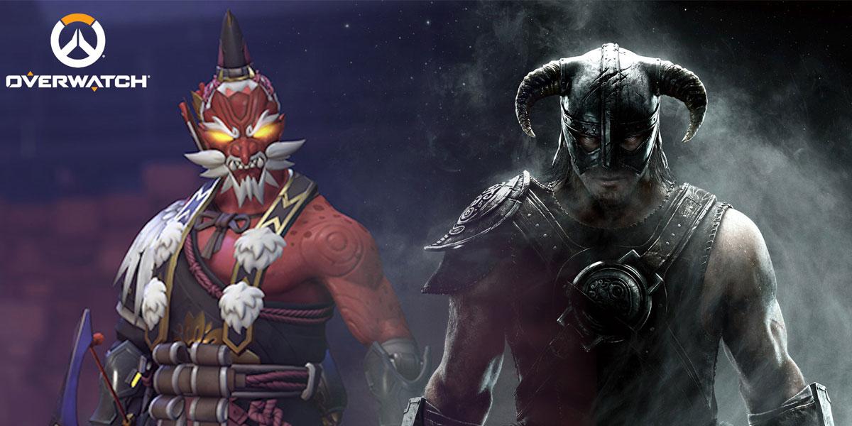 mod skyrim pozwala grać bohaterami Overwatch