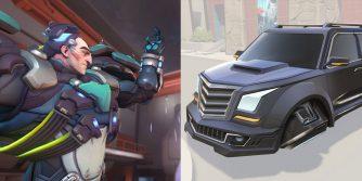 sigma rzuca samochodami w przeciwników talent overwatch 2