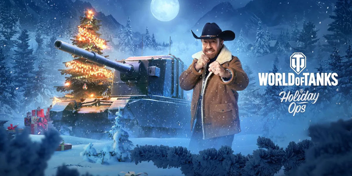 Chuck Norris dowódcą i ambasadorem World of Tanks