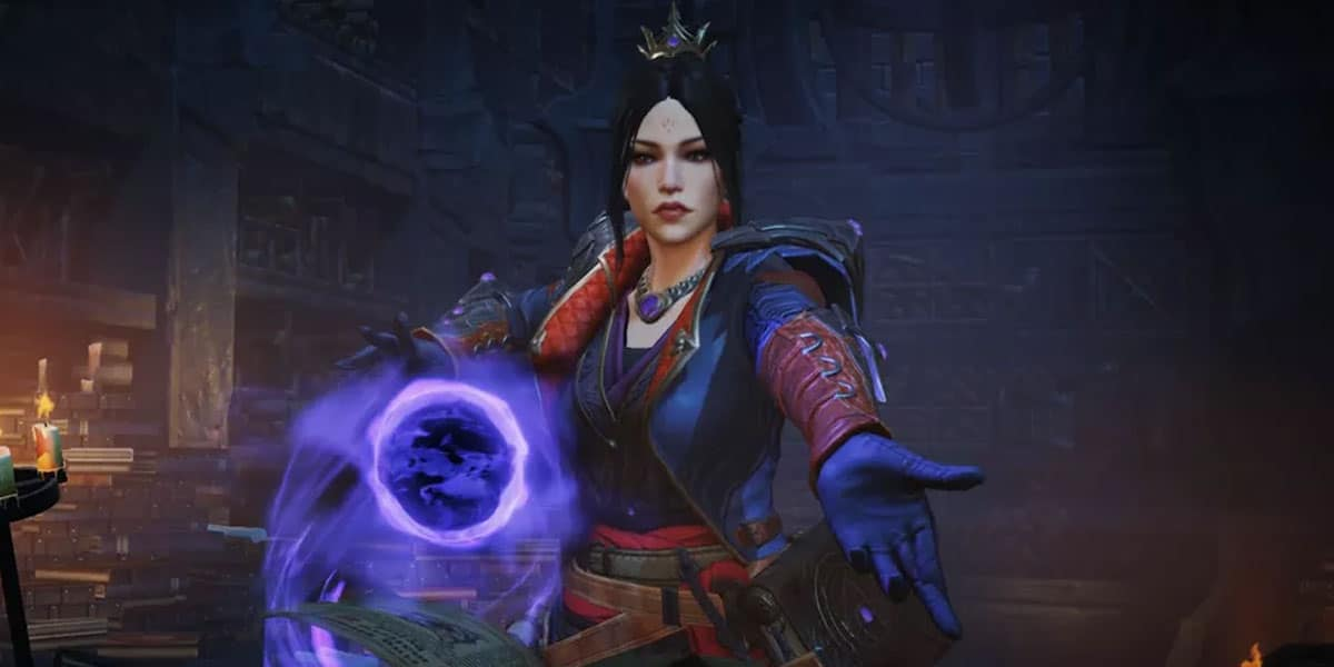 diablo immortal czarownica najpopularniejsza klasa