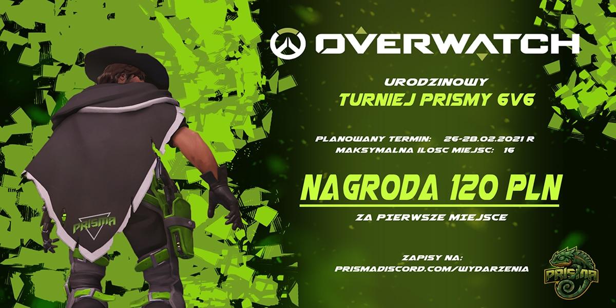 turniej overwatch prisma discord