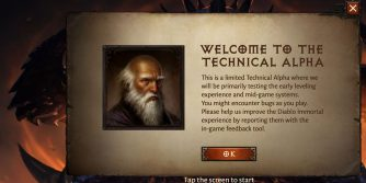 wkrótce startuje closed alpha diablo immortal