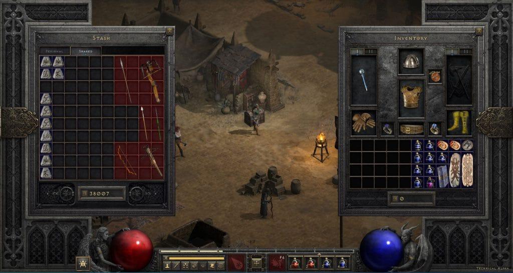 Jak wygląda dzielona skrzynia w Diablo 2 Resurrected