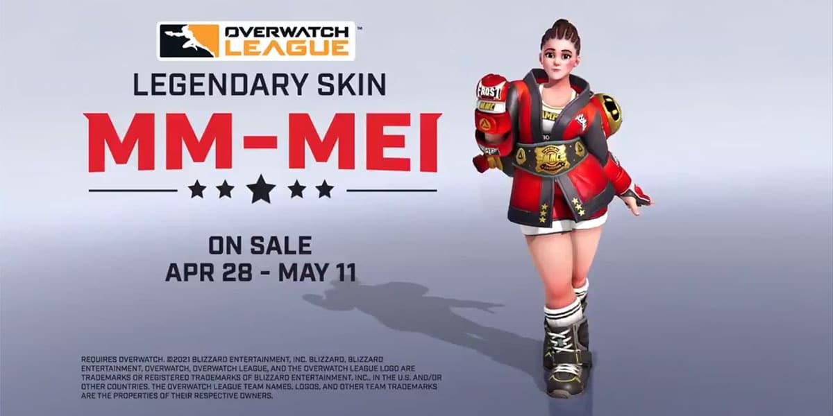 nowa legendarna skórka Mei