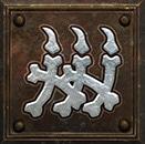 Umiejętność Nekromanty w Diablo 2 – Ściana z Kości