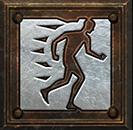 Umiejętność Barbarzyńcy w Diablo II - Zwiększona Szybkość