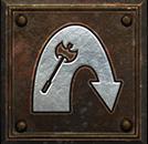 Umiejętność Barbarzyńcy z Diablo II - Atak z Wyskoku