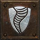 Umiejętność Druida w Diablo II - Zbroja Cyklonu