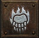 Umiejętność Druida w Diablo II - Ogniste Szpony