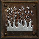 Umiejętność Druida w Diablo II - Burza Ognia